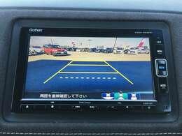 ◆バックカメラ◆後方も確認ができ、駐車の際に安全性が上がります!