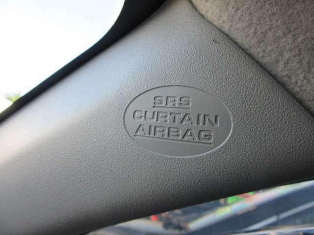 安心のサイドエアバッグ装備です。