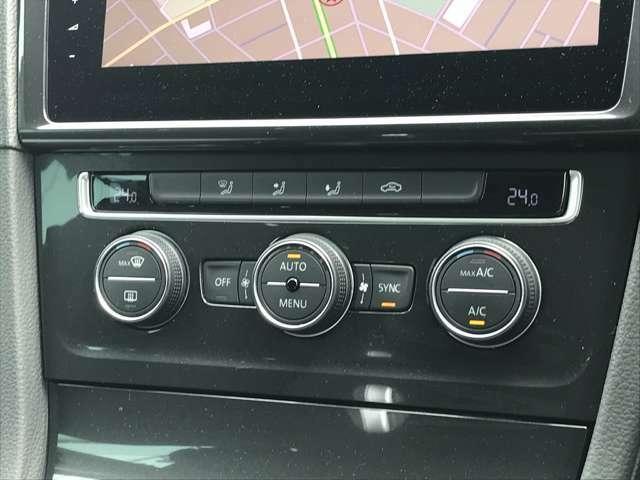 2ゾーンフルオートエアコンなので、運転席、助手席それぞれが独立して温度調節することができます