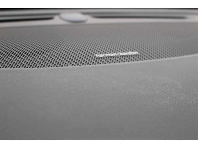 ハーマンカードンプレミアムオーディオシステムは、600W/12チャネルアンプを搭載し14個のスピーカーから臨場感あふれるサウンドを送り出します。音質音場は、補正ソフトに自動でコントロールされます。