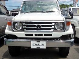 トヨタ ランドクルーザー70 4.2 LX ディーゼル 4WD 純正ハンドル 4WDスイッチ