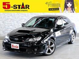 スバル インプレッサSTI 2.5 WRX Aライン 4WD ストラーダナビBカメTV黒革PシートETC純AW