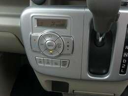 車内の温度も快適!オートエアコン装着♪