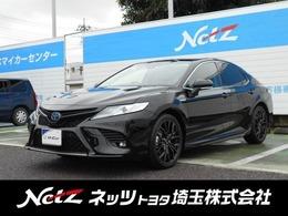 トヨタ カムリ 2.5 WS レザーパッケージ 元当社デモカー 19インチアルミ TSS付