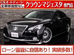 トヨタ クラウンマジェスタ 3.5 Fバージョン 後期型/禁煙車/黒革/車高調/20AW/LEDライト