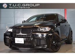 BMW X6 M 4.4 4WD 555ps 黒革 サンルーフ ナビTV HUD 2年保証