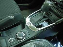 オートマで運転楽々!コマンダーコントロールで操作も簡単!