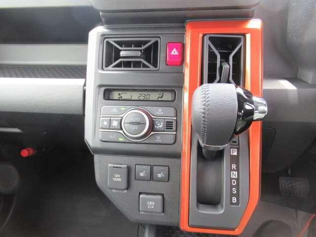 本革インパネセンターシフトにオートエアコン、シートヒーター、USB充電も可能!※グレードG標準装備
