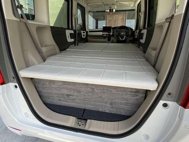 当社こだわりののベッドキットは、ベッド専用の厚いスポンジを使用しており、シートベースも頑丈な板を使用しております♪