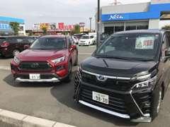 【新車】もちろん新車も取り揃えております!幅広い選択肢の中から、最高の一台をお選びください!