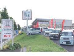 【中古車も新車も同時検討できる!】新車店と併設のため、両方同時に見れてしまうのが当店の特徴です♪