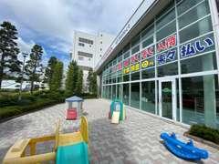 【圏央道鶴ヶ島IC】を降りたらすぐに展示場があります!