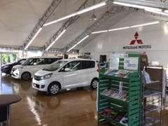 当店は新車も扱っていますので、新型車の試乗もできます。