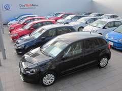 DWA展示場には、常時20台以上を展示。 ★良質な認定中古車を是非一度ご確認ください★