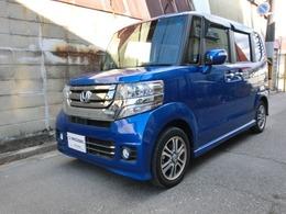 ホンダ N-BOX+ 660 カスタムG SSパッケージ 車いす仕様車 ワンオナ 禁煙 走行1.3万km パワスラ HID