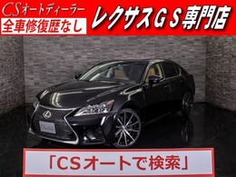 レクサス GS 350 バージョンL 新品スピンドル20AW/禁煙/本革/Mレビ