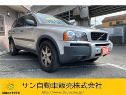 ボルボ XC90 2.5T 4WD 黒革電動シートヒーター キーレス アルミ