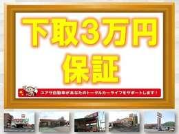 只今キャンペーン中です。軽自動車は1万円になります。