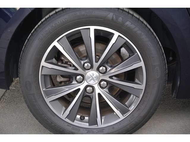 Bプラン画像:運転席側リアタイヤの状態です。タイヤの山も十分に残っております。