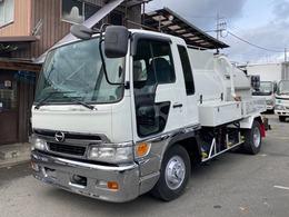 日野自動車 レンジャー ベッド付 2.45t高圧洗浄車PTO式 兼松モービルジェット