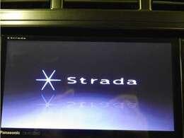「カーナビ」ストラーダナビ付きで知らない土地のドライブも安心!CD、DVD、TVも楽しめます♪