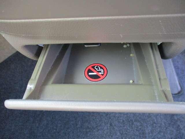 灰皿を使用した形跡がありません。もしかしたら、禁煙車かもしれません。参考程度にお考え下さい。