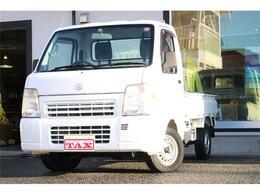 スズキ キャリイ 660 FC エアコン・パワステ 3方開 4WD 4WD・AC・PS・荷台マット・プロテクター