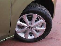 タイヤサイズは155/65R14