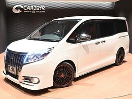 トヨタ エスクァイア 2.0 Gi 4WD モデリスタエアロ 車高調 18AW W電スラ