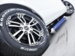 17inch FLEXオリジナル【Delf02】アルミホイール&17inch グットイヤーナスカータイヤ!