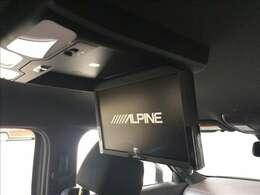 後部座席にはリヤエンターテイメントシステムが装着されています。長距離ドライブなどで、お子様などが退屈しないようにTVやDVDの映像を映すことが出来る優れものです★☆★☆★