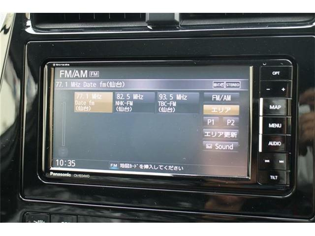 メモリーナビ搭載フルセグTVはもちろんBiuetooth対応で走行中も電話の応答楽々♪Bカメラ搭載