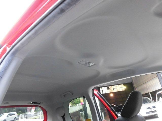 禁煙車ですので天井もとても綺麗です^^車内の嫌な匂いはほとんどが上から下りてきます。天井が綺麗な事は中古車選びで重要なポイントなのです^^