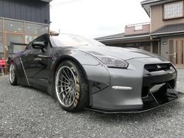 日産 GT-R 3.8 4WD リバティウォークLB-WORKS ナビ ETC Bカメ