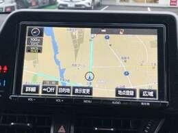 【ナビ】大画面で操作も簡単!さらに運転が楽しくなりますね♪◆TV◆DVD再生可能◆Bluetooth接続あり