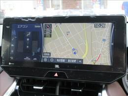 12.3型ナビゲーション装備。アップルカープレイやブルートゥースなどお楽しみいただけますよ。フルセグTVも視聴可能です。