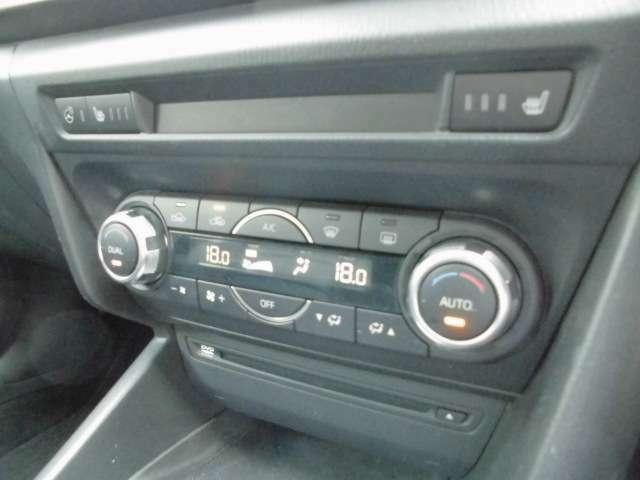 フルオートエアコン完備で快適空間!フロントシートヒーター付きで寒い日でも快適!CD&DVDもOK!