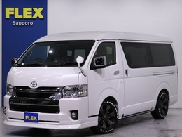 トヨタ ハイエース 2.7 GL ロング ミドルルーフ 4WD FLEX内装架装ver2 ナビ ETC