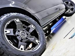 17inchFLEXオリジナル【Delf03】アルミホイール&17inchTOYO オープンカントリータイヤ!