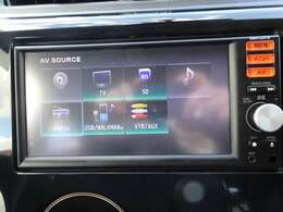 ◆日産純正ナビゲーション◆フルセグTV・CD再生など様々なソースが使用できます。是非、お気に入りの音楽で楽しい運転の時間をお過ごしください!