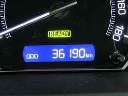 走行距離はおよそ36,000kmです。