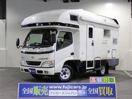 トヨタ カムロード キャンピング バンテック ジル520 4WD FFヒーター 冷蔵庫 トイレ 16型テレビ
