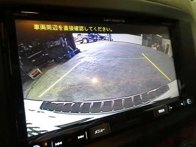 バックカメラ搭載!駐車も安心です!