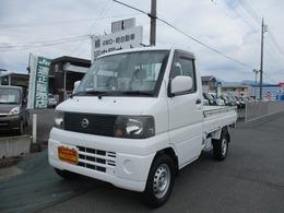日産 クリッパートラック 660 DXエアコン付 4WD パワステ/運転席エアバック/スタッドレス