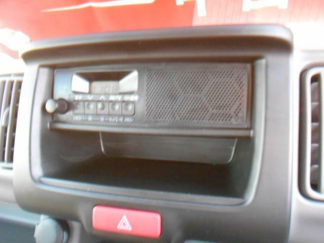ラジオを聴くことができます。