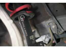 G's専用装備は、ボディスポット増し、足回り、ブレーキ、外装パーツです。