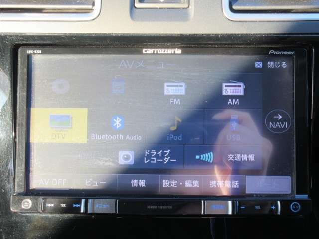 フルセグ視聴/CD・DVD再生/Bluetooth・USB接続できます☆
