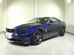 フォード マスタング V8 GT クーペ プレミアム ブラック革ツインストライプ メモリーナビ