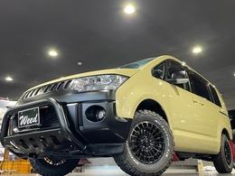 三菱 デリカD:5 2.4 G パワーパッケージ 4WD ノマド16ホイル サンドベージュ ナビTV