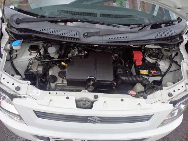 手入れの行き届いたエンジンです。